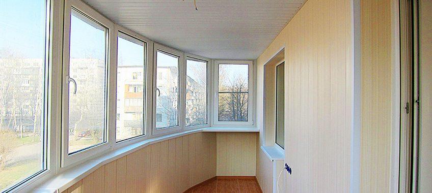 Как своими руками обшить балкон панелями